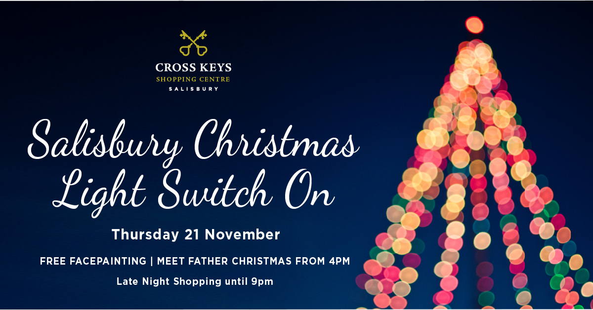 Crosskey_Christmas Salisbury Lights Switch on